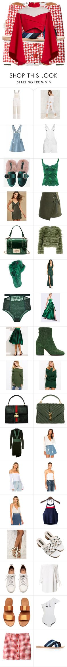 """""""4th/Xmas"""" by queenet ❤ liked on Polyvore featuring Sea, New York, Madewell, Dolce&Gabbana, LULUS, Chicwish, Alice + Olivia, Lilly e Violetta, Lonely, Fame & Partners and Maison Margiela"""