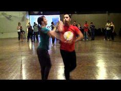 Jorge Aguilar Valdes & Ashle Dawson Advanced On 2 Salsa