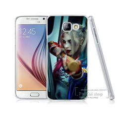 Hot!Jared Leto Joker Margot Robbie Harley Quinn Suicide Squad DC Comics Cases For Samsung A3 A5 A7 J1 J5 J7 2015 2016 Back Cover