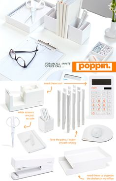1000 images about white on pinterest desk accessories. Black Bedroom Furniture Sets. Home Design Ideas