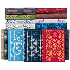 Mix and match your favorite decorative classic novels from Penguin Books — up to 34 in total — for your very own custom set curated by Juniper Books.