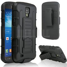 Rugged Hybrid Armor Impact Hard Case Cover+Holster With Belt Clip For Samsung Galaxy S4 S IV i9500/S4 Active i9295/S4 Mini i9190 //Price: $5.29//     #gadgets
