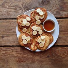 #recipeoftheday // Banana Pancakes adapted from @williamssonoma The Kid's Cookbook #Padgram