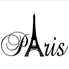 Amazon.com: Paris Tower girls room wall decal home decor vinyl lettering wall saying sticker: Home & Kitchen