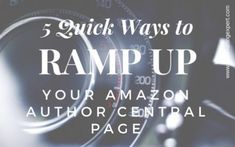 5 Quick Ways to Ramp Up Your Amazon Author Central Page — Chris The Story Reading Ape's Blog https://inkandstonenews.wordpress.com/2018/05/16/5-quick-ways-to-ramp-up-your-amazon-author-central-page-chris-the-story-reading-apes-blog/