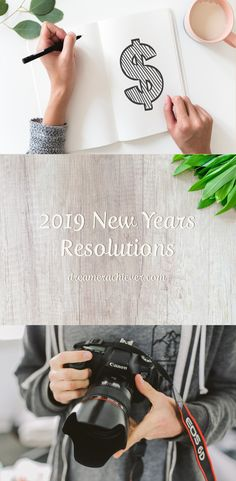 2019 New Years Resolutions - Dreamer Achiever Resolutions, The Dreamers, Posts, Blog, Messages, Blogging