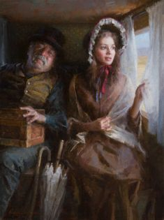 """Morgan Weistling - Fine Artist - """"Stagecoach"""" 2012 Autry Museum, Master's of the American West Show"""