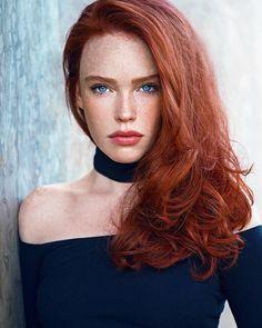 Mature paradise redhead