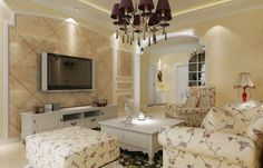 ファンキーシャンデリアデザイン偉業花ファブリックソファセット現代の国リビングルームのアイデアで保管してもホワイトコーヒーテーブル