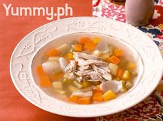 Chicken and Veggie Soup Recipe