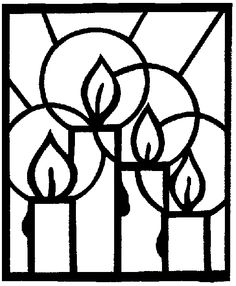 Stained Glass Candle Drawing · Art Projects for Kids- Advent For Kids, Christmas Crafts For Kids, Christmas Colors, Christmas Themes, Holiday Crafts, Christmas Holidays, Christmas Decorations, Christmas Ornaments, Kids Crafts