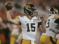 QB Jake Rudock: The Iowa transfer didn't come to Ann Arbor for his final season of eligibility to sit on the bench; he's the veteran presence at the QB position.