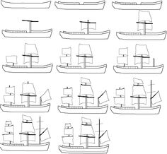 how to draw a ship captain