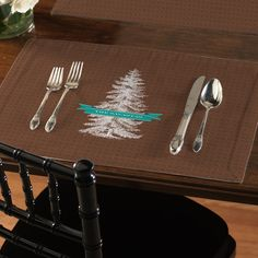 This  set of 4 matching personalized placemats is sure to make entertaining very special.  Our sturdy stain resistant fabric is long-lasting, wrinkle-resistant and feels as great as it looks. Machine washable.  Manufacturing time 7 business days plus shipping. Proudly made in the USA.
