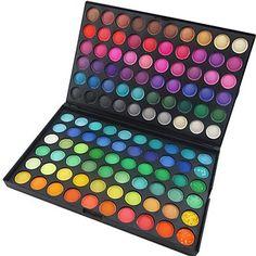 Mat éblouissant 120 couleurs professionnel&miroitement 3in1 fard à paupières palette de maquillage cosmétique – EUR € 9.99
