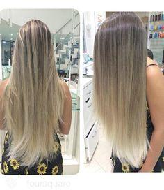 Mega Hair Antes e Depois - Top Cabelos Naturais