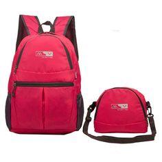 Lightweight Foldable Outdoor Travel Hiking Backpack Waterproof Running Shoulder Bags Crossbody Bags