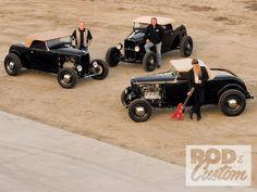 HOT RODS roadsters auto | 1932 Ford Roadster Three Roadsters | AutoAmbush.com