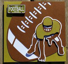 cricut sports mania football cards -football