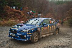 David Higgins // Craig Drew Wales Rally GB 2015