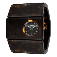 Rosewood Watch Tortoise, $48, now featured on Fab.