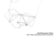 5 elements, necklace - Eva Suba
