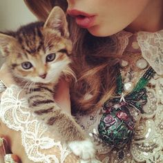 Nick Knight Photographs Kittens and Couture for the First Ever High Fashion Instagram Shoot