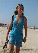 Beach tunic - Sea and Sun by Olga Alexeeva