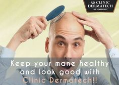 Hair Transplant at Clinic Dermatech  If you are losing hair and are not a grandparent yet, consider Hair Transplant. Consult our in-house expert trichologist and cosmetologist at no charge. For an appointment, call 8905320330 (Delhi NCR) or 8430150151 (Mumbai) or visit www.clinicdermatech.com.  #HairTransplant #Beauty #Wellness #LivePowerfully #ClinicDermatech