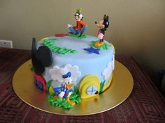 Mickey Mouse Clubhouse Birthday Cake_2013