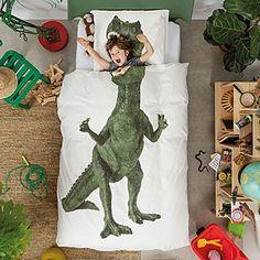Dinosaur Duvet and Pillowcase Set