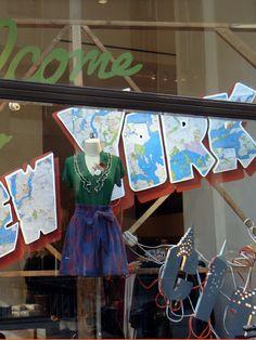 "Beautiful Window Displays!: Anthropologie ""Fall Forward"" Window Displays"
