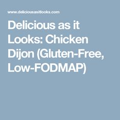 This is probably one of my favorite chicken recipes that I have come up with lately. Most Dijon chicken recipes have some sort of dairy in them, either cream or milk. Roasting Garlic In Oven, Oven Roast, Sin Gluten, Garlic Oil Recipe, Clean Recipes, Free Recipes, Healthy Recipes, Healthy Breakfasts, Healthy Dishes