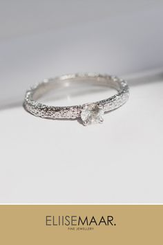 Most of Eliise Maar Engagement rings are made as custom designed bespoke orders and not listed in the online store. #Engagement #rings #EliiseMaar #custom Wedding Engagement, Wedding Rings, Engagement Rings, Fine Jewelry, Jewellery, Minimalist Jewelry, Jewelry Branding, Timeless Design, Bespoke
