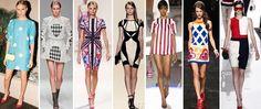 геометрический принт платья - Поиск в Google