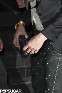 Elle Macpherson showed off her new ring at the event | Check it out!