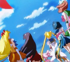 "fyeahsailormoon: "" 「美少女戦士セーラームーン Crystal」第3期<デス・バスターズ編> """