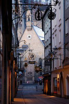 Town Centre - Salzburg, Austria