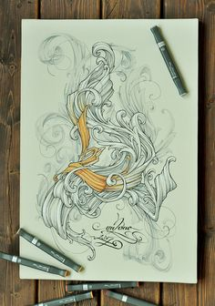 Numeral two by un2one , via Behance