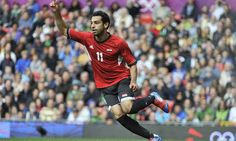 Mo Salah of Egypt at the 2012 Olympic Games Football Tournament. Fc Basel, Football Tournament, Games Football, Mo Salah, World Cup Winners, Mohamed Salah, Sport Icon, Business Casual Men, Fifa World Cup