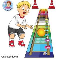 Gymles met laddermat voor kleuters 3, kleuteridee, kindergarten, preschool agility training sport