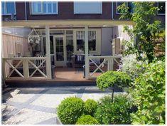 Bekijk de foto van Bloemetje234 met als titel veranda bij rijtjeshuis en andere inspirerende plaatjes op Welke.nl.