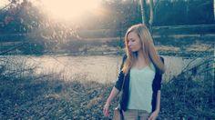 #OOTD #mint #green #top #black #blazer #beige #pants #fashion #flats #river #sunny #day