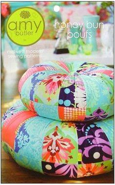 Amy Butler Patterns, Honey Bun Pouf
