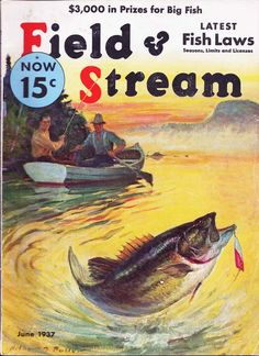 old magazine ads and commercials Six Decades of Field & Stream Covers