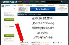 How to Install Fonts on a PC - The Graphics Fairy