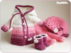 purple-pink set (_vasilka_) Tags: doll handmade crochet knit clothes jaime latiyellow pukifee