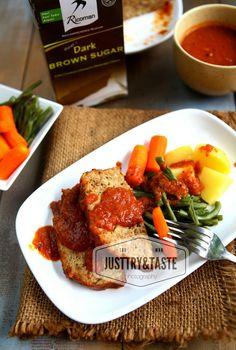 Meatloaf dengan Barbecue Sauce