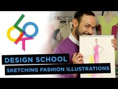 ▶ Sketching Fashion Illustrations: Design School w/ Nick Verreos - YouTube