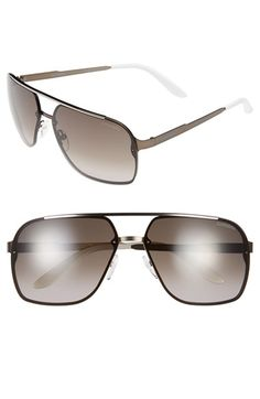 Carrera Eyewear 64mm Navigator Sunglasses available at #Nordstrom